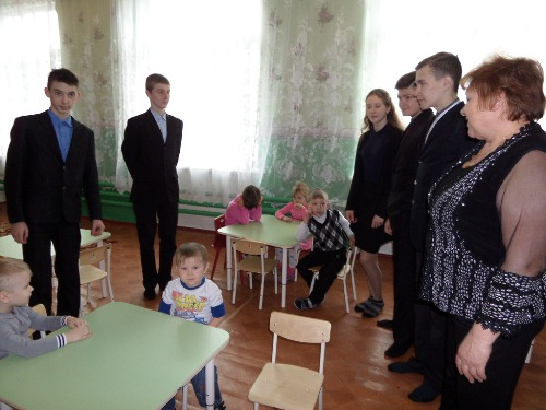 В детском садике
